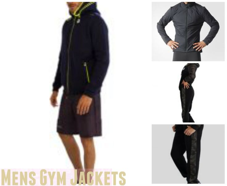 For The Fitness Enthusiast Mens Gym Jackets Are Perfect For Your Fitness Level