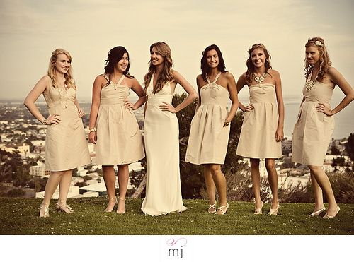 White Bridesmaid dresses? « Weddingbee Boards