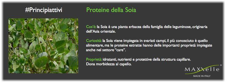 Proteine della #Soia #hair #MadeinItaly #hairfashion #hairstyle #haircare #naturalhair #MAXXelle