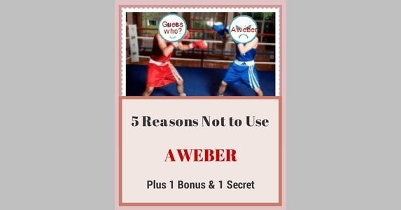 5 Reasons Why Not to Use AWeber (Plus 1 Bonus & 1 Secret)  ||  Aweber is good indeed. One of the oldest email marketing services. But that doesn't mean that Aweber is the best email marketing company. Discover now why. https://www.adrianjock.com/reasons-not-to-use-aweber/?utm_campaign=crowdfire&utm_content=crowdfire&utm_medium=social&utm_source=pinterest