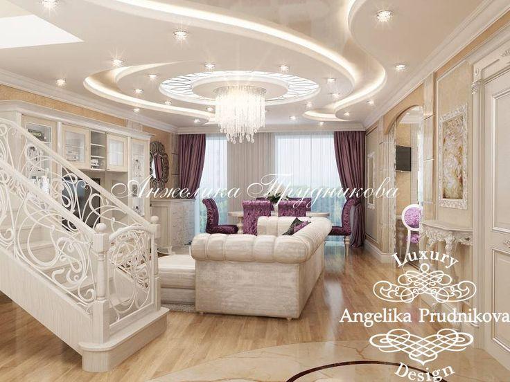 изайн квартиры в стиле неоклассика в Южном Бутово - фото