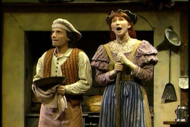 Joanna Gleason (with Chip Zien) as The Baker's Wife in INTO THE WOODS. How to turn a secondary character into the heart and soul of a show.