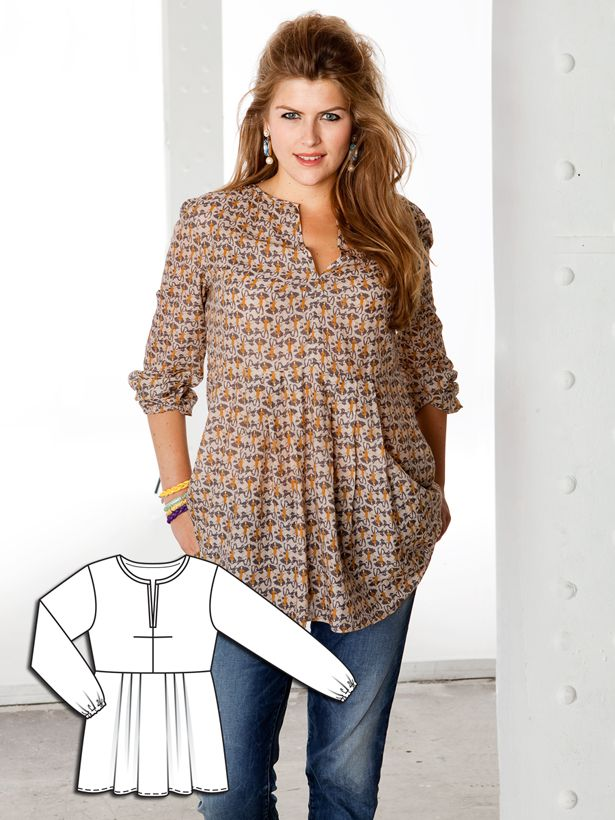 In Mint Condition: 12 New Plus Size Patterns – Sewing Blog | BurdaStyle.com