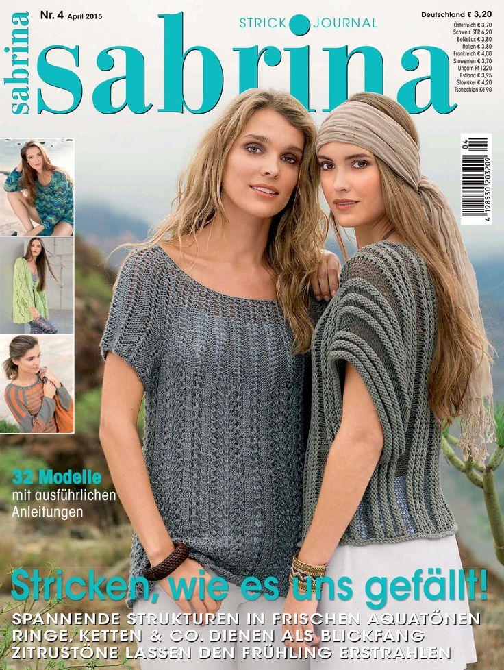 Sabrina Knitting April 2015