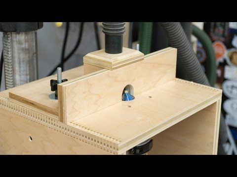 Learn how to build a router table for Woodworking for under $10 in this woodworking video for beginners. This simple router table is a good starting point fo...