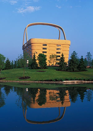 Basket Building  Newark, Ohio, USA