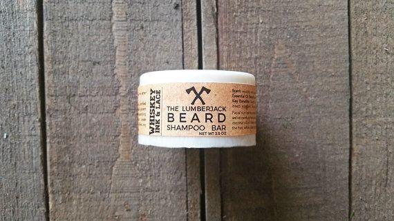 The Lumberjack ORGANIC Beard Shampoo & by WhiskeyInkandLace