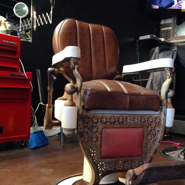 Man Cave Barber Hours : Best images about vintage barber chairs on pinterest