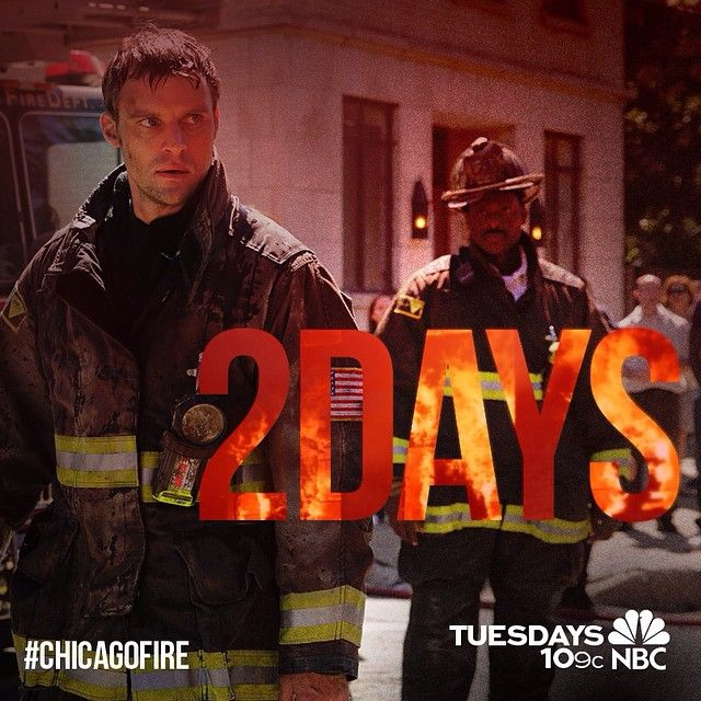 2 DAYS TO GO. #ChicagoFire #Rescue51