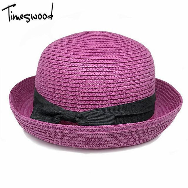 Check it on our site New Summer Dome Panama Straw Hat Ladies Beach Hats Sun Hat Boater For Women Adult Sombrero Para El Sol Mujer Verano Gorros just only $5.97 with free shipping worldwide  #womanaccessories Plese click on picture to see our special price for you