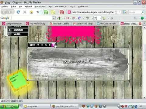 glogster tutorial - YouTube