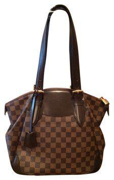 Louis Vuitton Verona Mm Brown Tote Bag $1,461