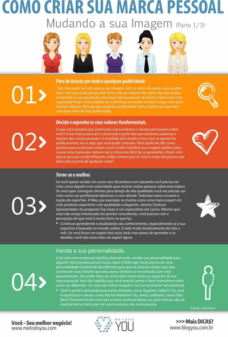 Acompanhe aqui no Blog nesta série de 3 infográficos especiais sobre 'Como Criar Sua Marca Pessoal'.Neste primeiro post sobre: 'Mudando sua Imagem'. Não esquece de deixar seus comentários abaixo,... Leia Mais