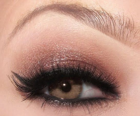 """Everyday Smokey Eye...   Yeah, before kids.   I would now call this """"Going Out Eye."""""""