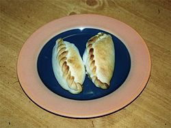 everyday food - Saltenas are a staple food because they are cheap and the ingrediants are easy to come by.