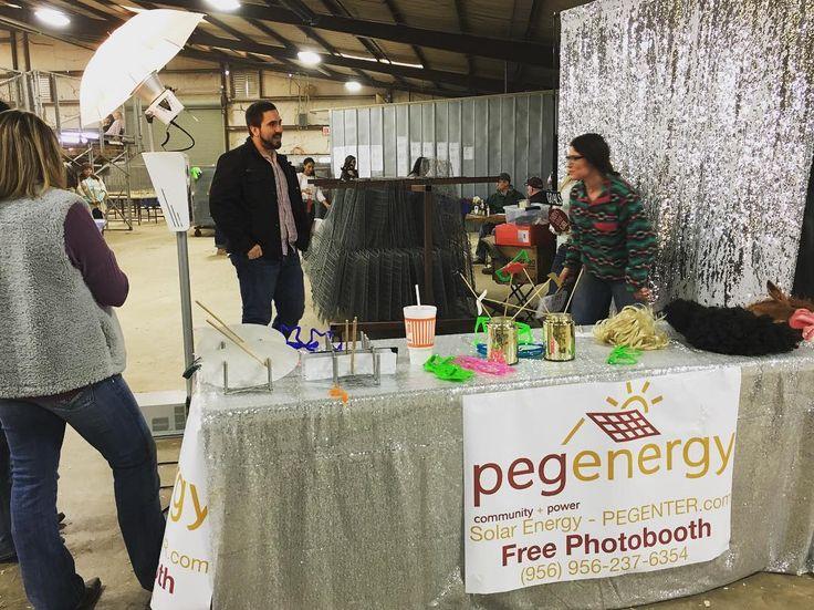 San Antonio Junior Livestock with PEG Energy! That WhataB cup doe#PhotoBooth #PEGEnergy #SolarPanels #solarenergy