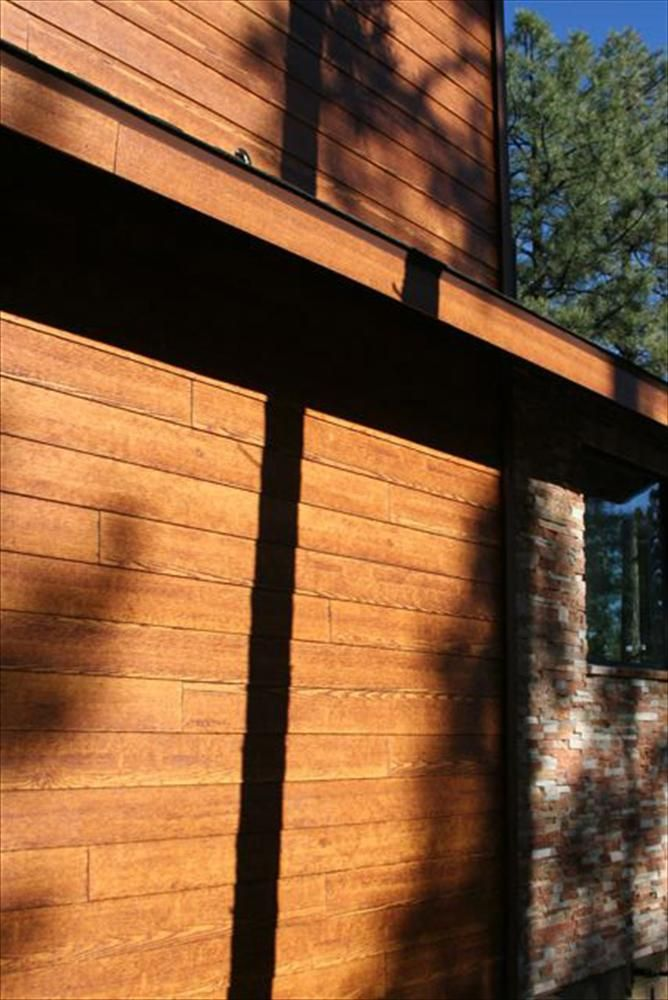 Mineral Board Siding : Rustic fiber cement siding outdoor and