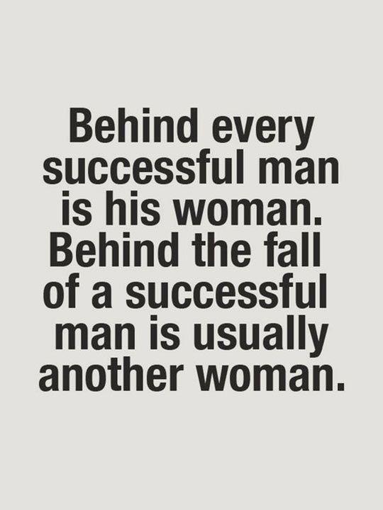 Behind A Successful Man Quotes. QuotesGram