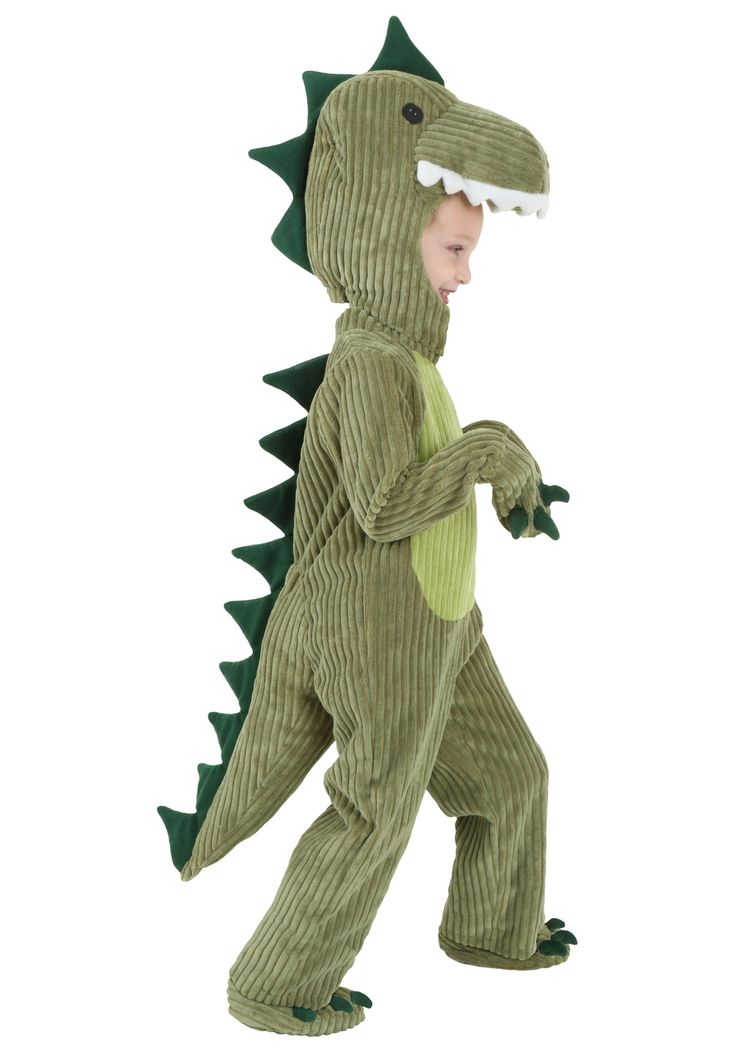 You're going to hear him roar in this Toddler T-Rex costume! The only thing better than liking dinosaurs is being one in this exclusive costume!
