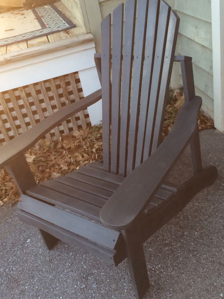 Adirondack Chair   Annie Sloan Chalk Paint Outdoor Chair. Part 35
