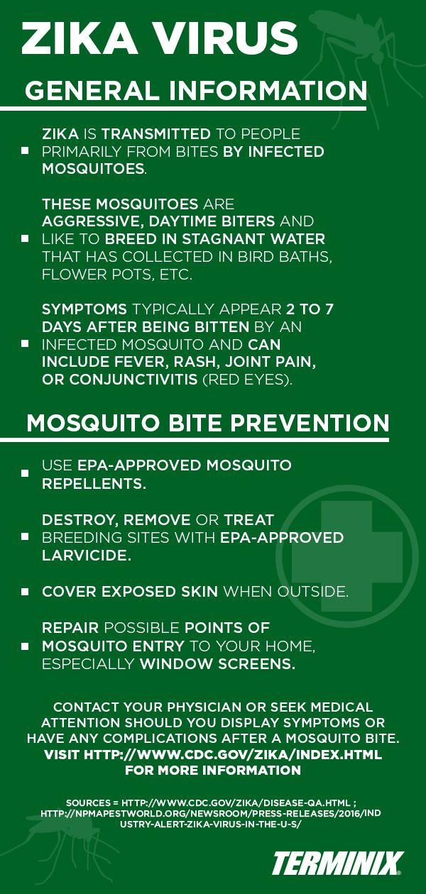 Here are some helpful facts to share with your family about ‪Zika‬ and mosquito control.