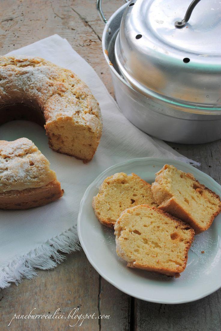 Pane, burro e alici: Ciambellone con whisky e cioccolato bianco nella pentola-fornetto
