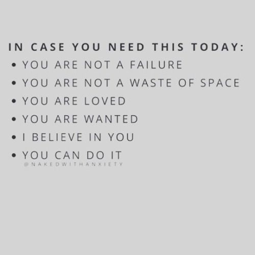 In case you need this today -Recovery and Bad days
