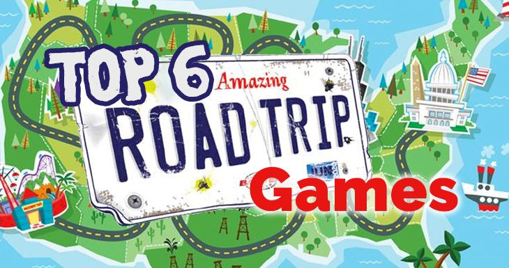 Top 6 – Amazing road trip games