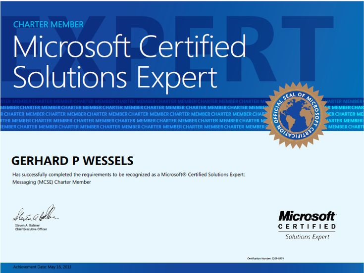 MCSE stands for Microsoft certified system engineer MCSE