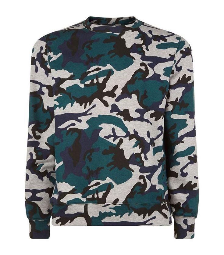 SANDRO Camouflage Sweatshirt. #sandro #cloth #