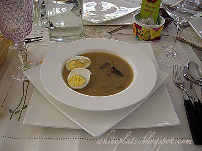 Żurek – White Plate