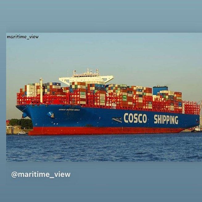 Coscoshippinglinesnvrsk Compartilhou Uma Publicacao No Instagram Container Transportcompany Refcontainers Refservice Cosco Cosco Pandora Screenshot Maritime