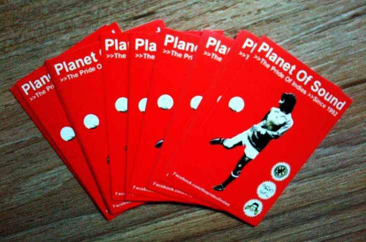 Stickers for Planet Of Sound