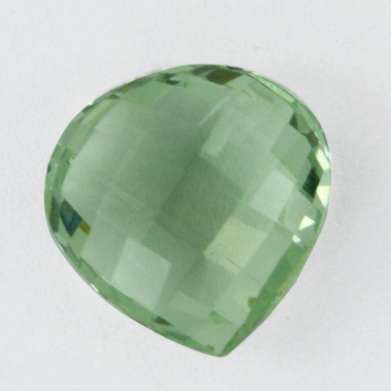 1414 mm Pear Shape7.9 Ct Faceted Natural Green by DevmuktiJewels