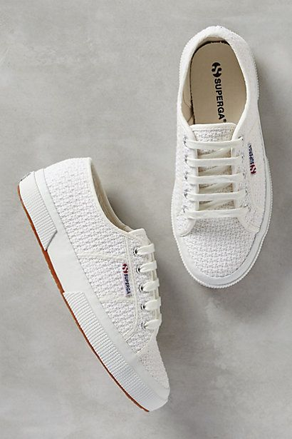 Superga Crochet Sneakers #anthropologie