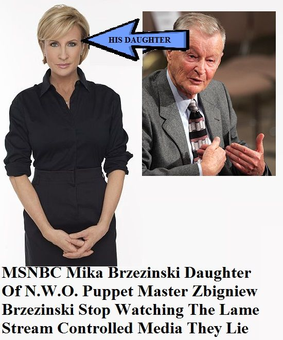 CLICK PIC TO SEE WIKI PAGE MSNBC Mika Brzezinski daughter of N.W.O. Puppet Master INFOWARS.COM BECAUSE THERE'S A WAR ON FOR YOUR MIND