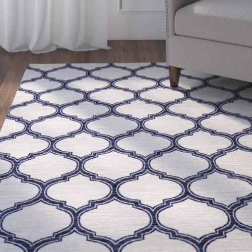 Features:  -looped Fibers: Yes.  -Background color: Gray.  Primary Color: -Navy.  Type of Backing: -Latex.  Material: -Synthetic.  Product Care: -Area rugs should be spot cleaned with a solution of mi