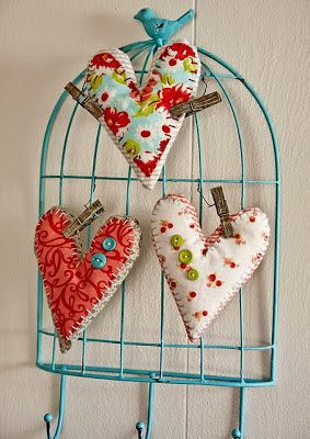Coração artesanato