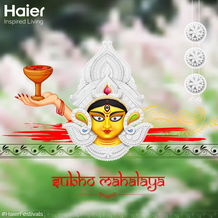 #HaierIndia wishes everyone a blessed Mahalaya!! #HaierFestivals #SubhoMahalaya