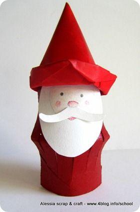 -50 giorni a Natale: fai Babbo Natale con i rotoli