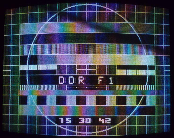 Fernsehen der DDR 1 (von 2) #ddrmuseum