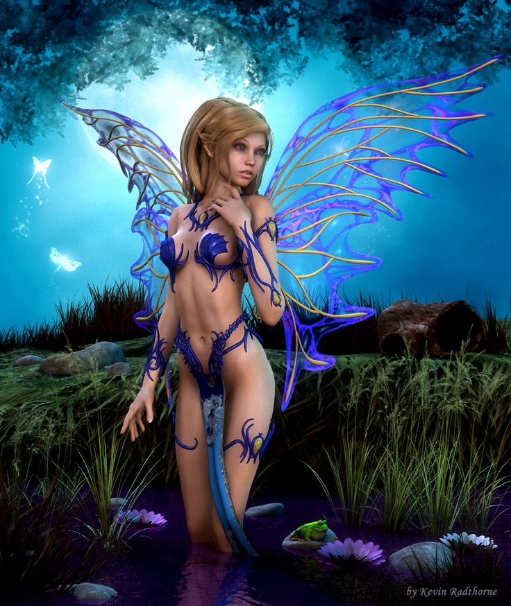 Erotic fantasy fairy art