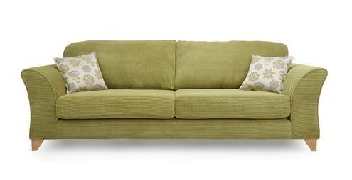 4 Seater Formal Back Sofa Sundae | DFS