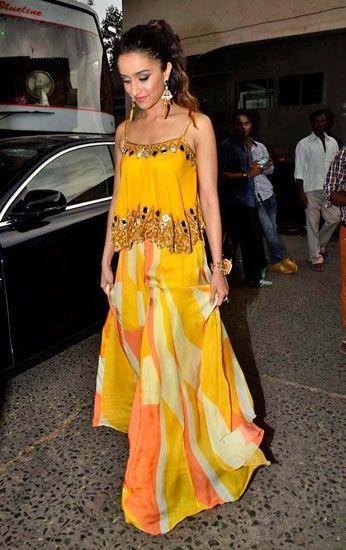 Shraddha Kapoor in Arpita Mehta                                                                                                                                                                                 More