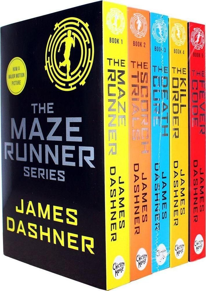 The Maze Runner Series 5 Books Set Young Adult Paperback