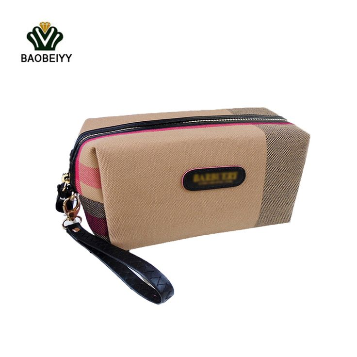 BAOBEIYY Women Cosmetic Bag Small Makeup Case Waterproof Travel Hand Bag Organizer Beautycase Bags Toilet Bag In Toiletry kit