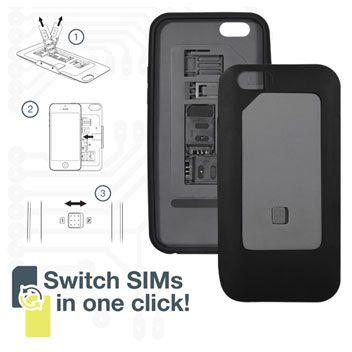 Coque iPhone 6 Dual SIM ThumbsUp! - Noire