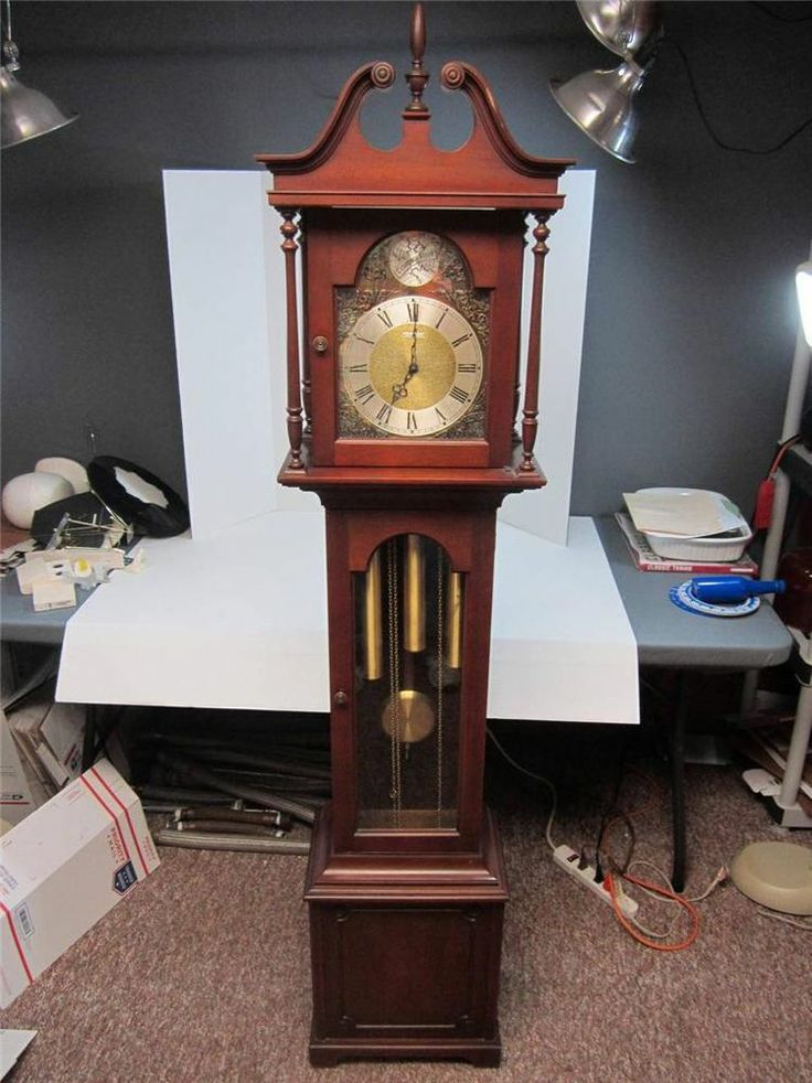 Details About Barwick Tempus Fugit Grandfather Clock