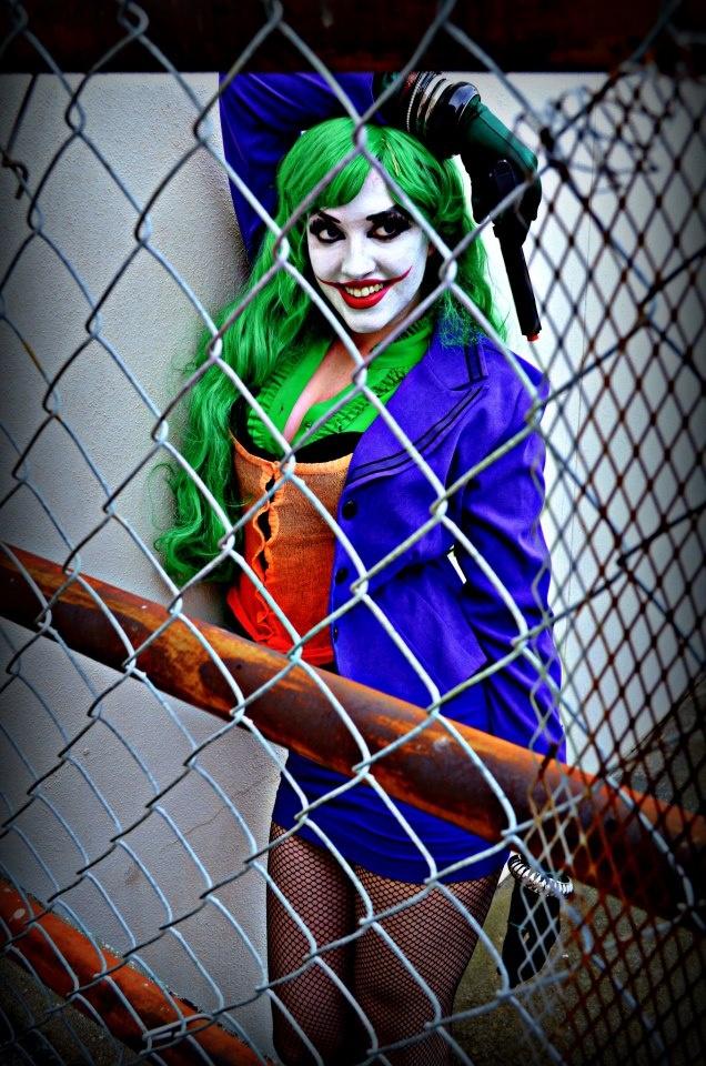Callie Cosplay as a female Joker