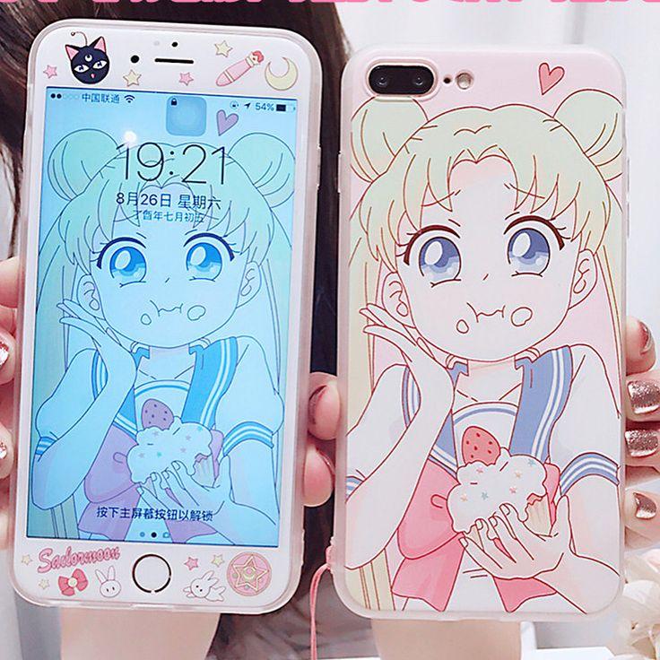 "1,859 Suka, 14 Komentar - Penny Crafts (@pennycraftsstudio) di Instagram: ""Pink Sailormoon Phone Case for iphone 6/6s/6plus/7/7plus/8/8p, $20 in my shop @pennycraftsstudio…"""